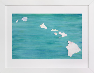 Hawaii in Paint Art Print