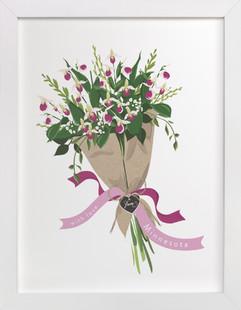 Minnesota Lady's Slipper Bouquet Art Print