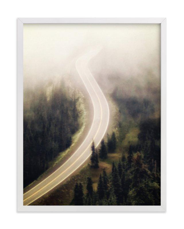 Long Road Home Art Print