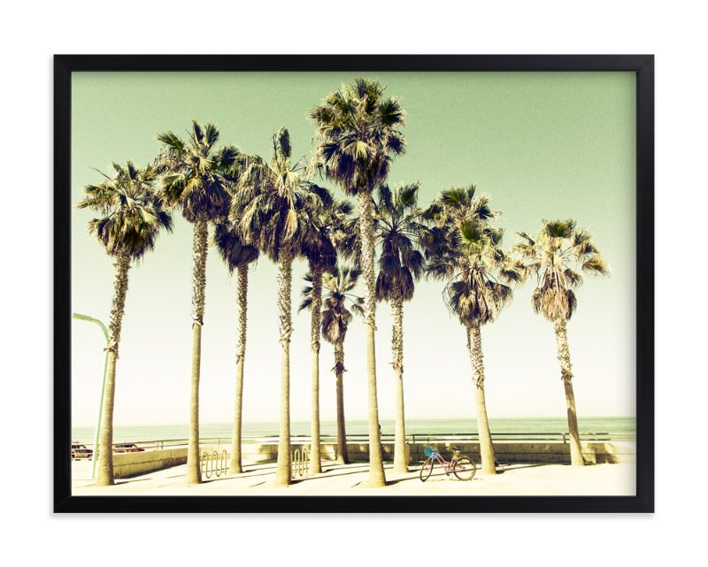 """""""Pacific Beach"""" - Limited Edition Art Print by Michelee Scott in beautiful frame options and a variety of sizes."""