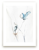heron's nest by Annie Moran