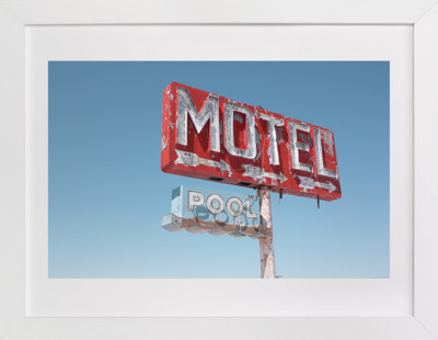 Hotels & Motels Art Print