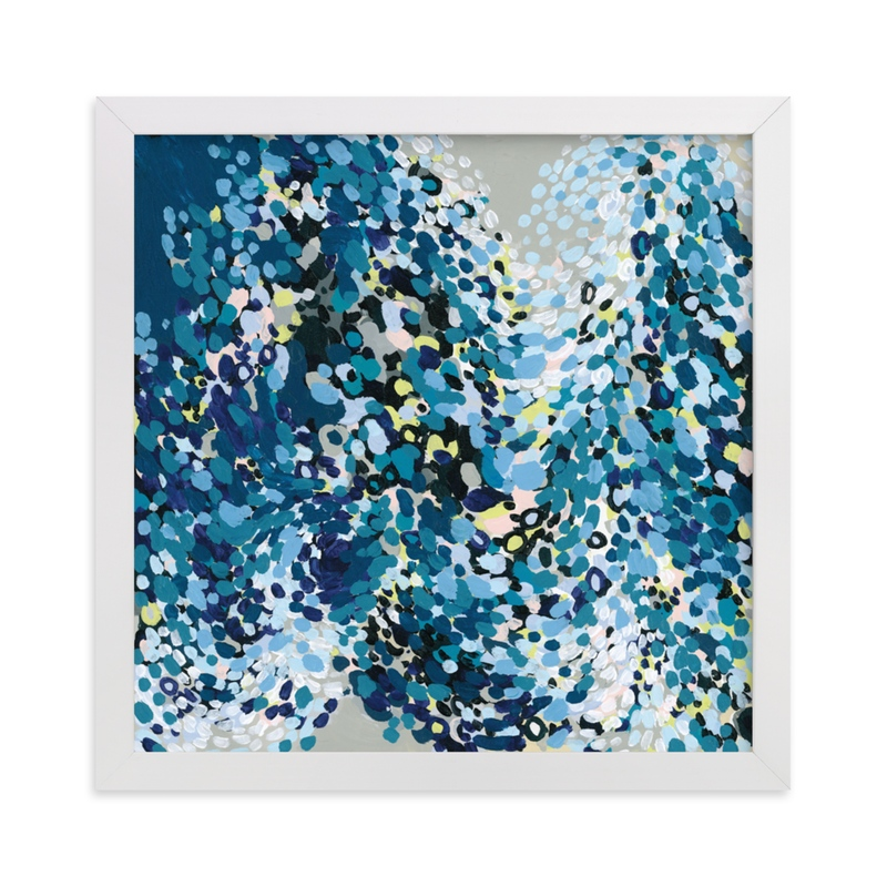 """""""Dance in Blue"""" - Limited Edition Art Print by Katie Craig in beautiful frame options and a variety of sizes."""