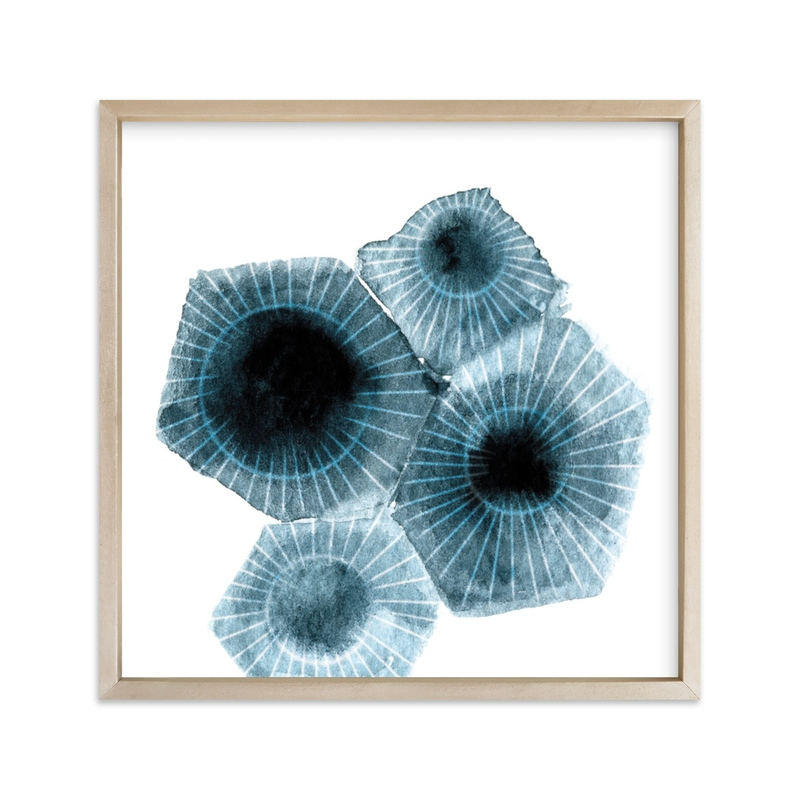 """""""fossilized rock"""" - Limited Edition Art Print by Tanya Lee of Frooted Design in beautiful frame options and a variety of sizes."""