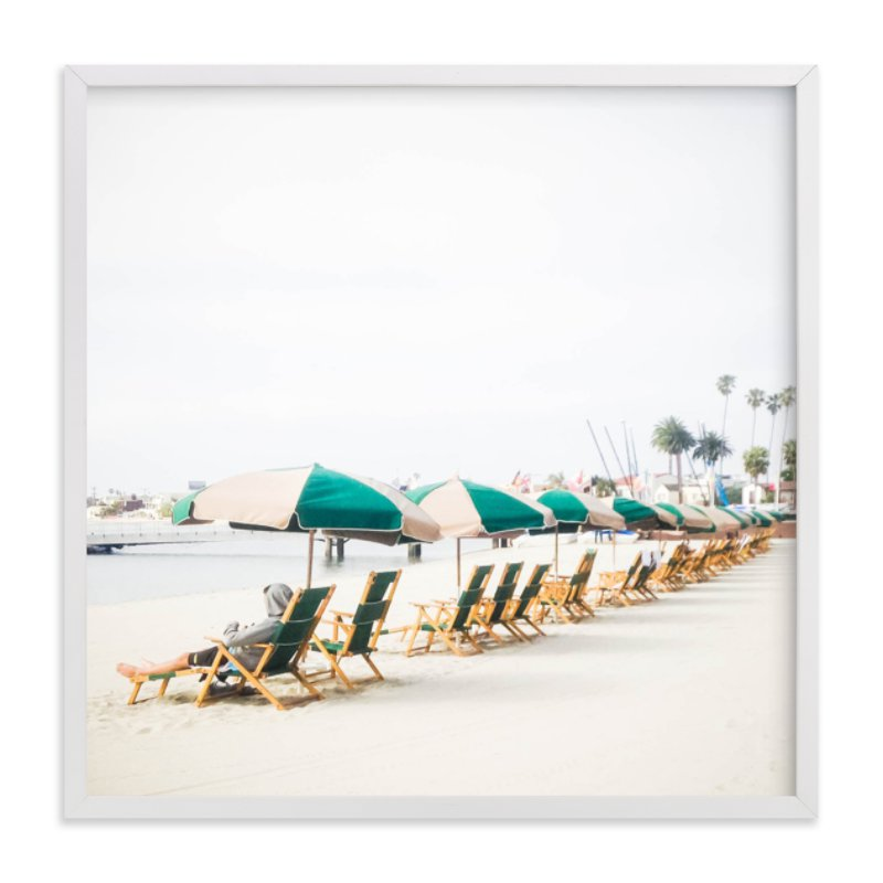"""""""San Diego Winter"""" - Limited Edition Art Print by Dariela Cruz in beautiful frame options and a variety of sizes."""