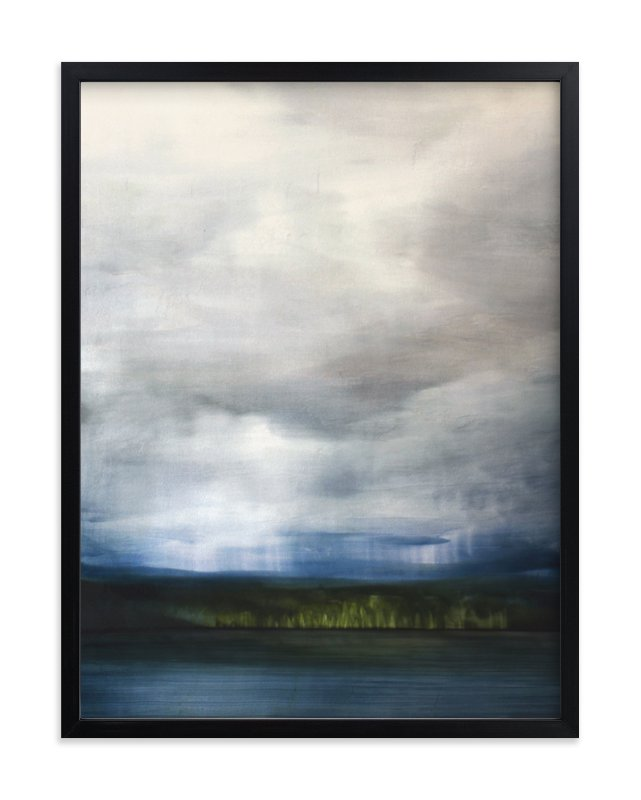 """""""Rain and Light"""" - Limited Edition Art Print by Brian Sostrom in beautiful frame options and a variety of sizes."""