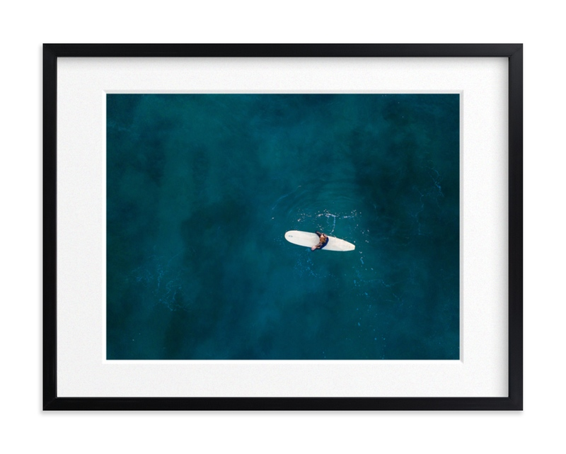 Waiting on Waves Art Print