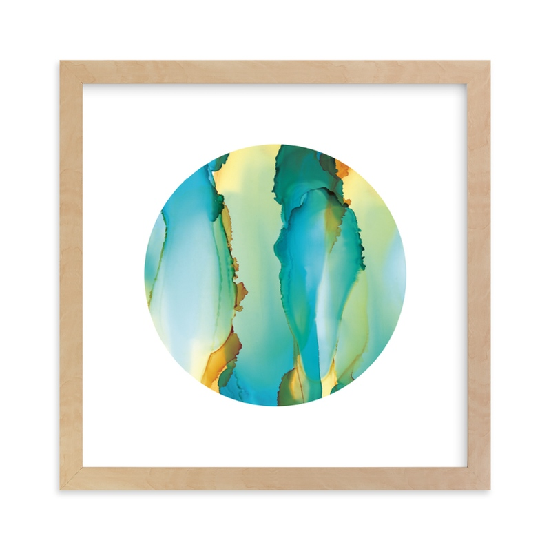 """Marine"" - Limited Edition Art Print by Jennifer Morehead in beautiful frame options and a variety of sizes."