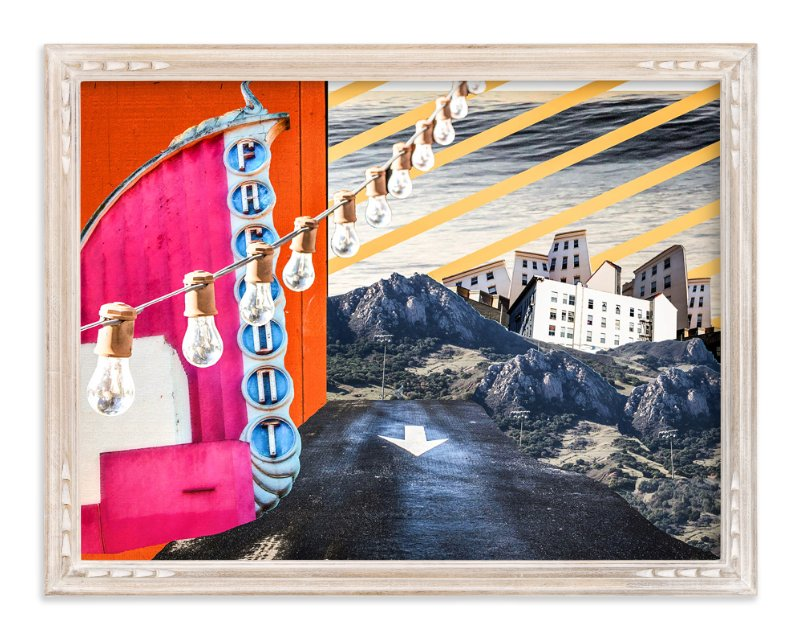 """""""San Luis Collage"""" - Limited Edition Art Print by Kate Baird in beautiful frame options and a variety of sizes."""