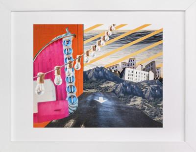 San Luis Collage Art Print