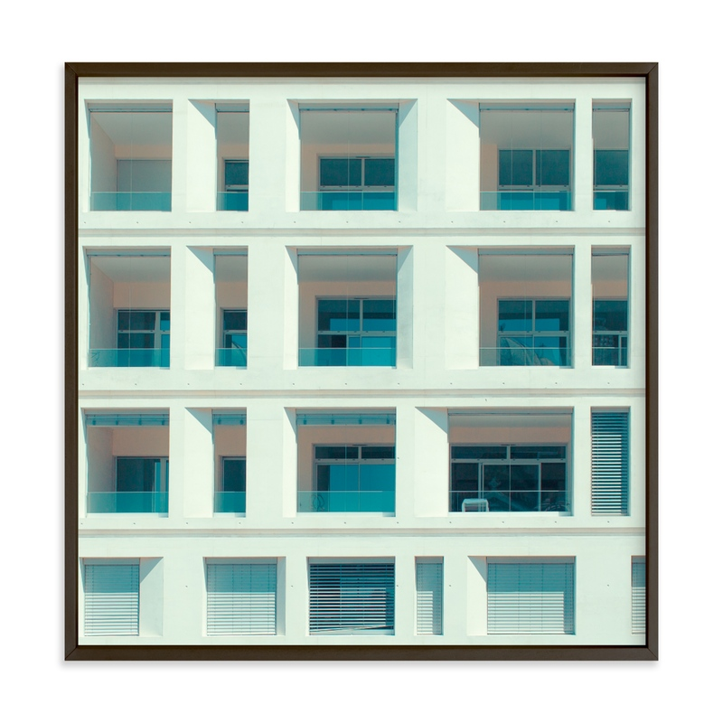 """""""french squares"""" - Limited Edition Art Print by Jacob Loafman in beautiful frame options and a variety of sizes."""
