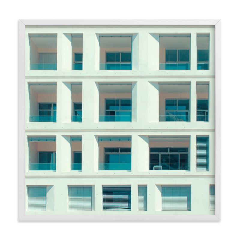 french squares Art Print