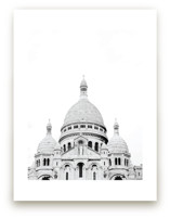 Looking Over Montmartre by Wildfield Paper Co.