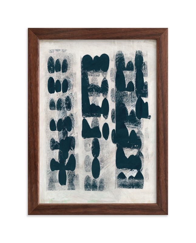 """Domino Effect"" - Limited Edition Art Print by Lorent and Leif in beautiful frame options and a variety of sizes."