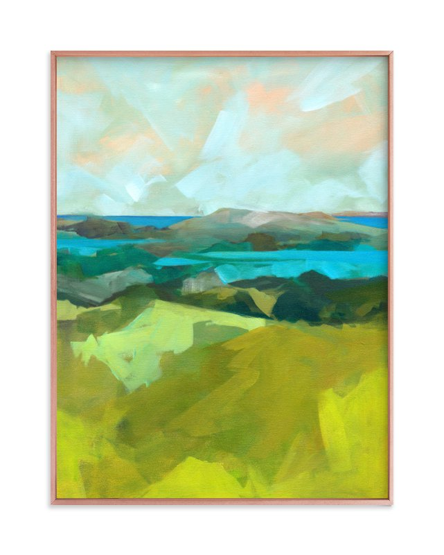 """""""Shore Thing"""" - Limited Edition Art Print by Jess Franks in beautiful frame options and a variety of sizes."""