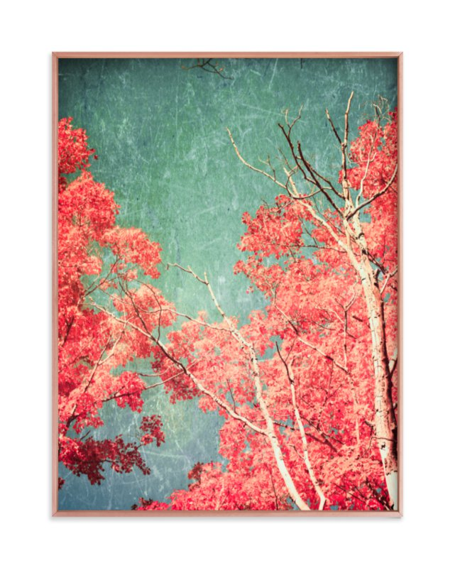 """""""Enchanted Woods I"""" - Limited Edition Art Print by Caroline Mint in beautiful frame options and a variety of sizes."""
