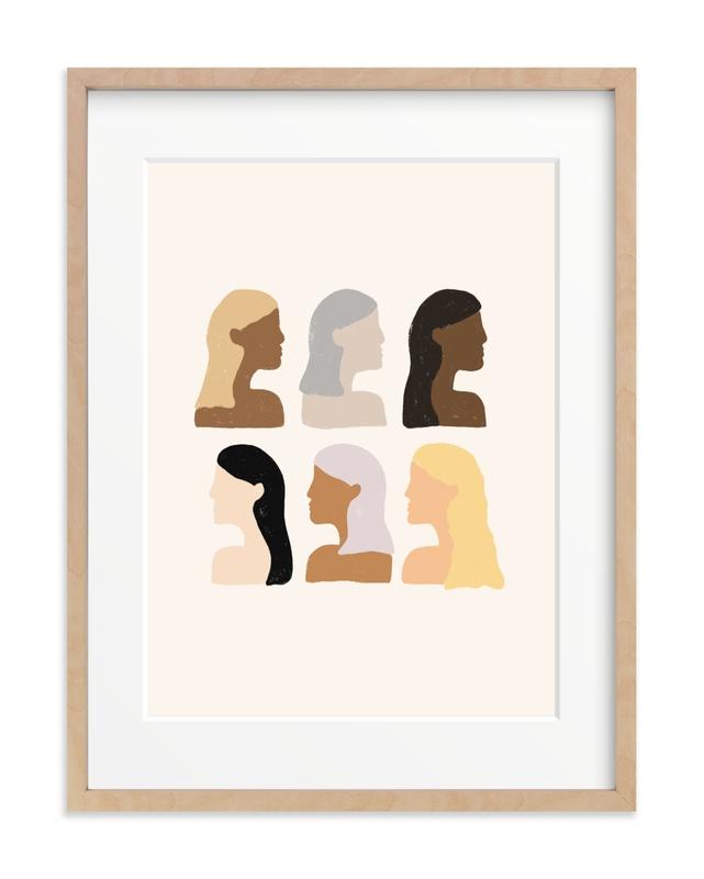 Girls Support Girls Art Print