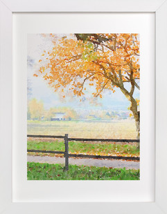 Autumn Tree Art Print
