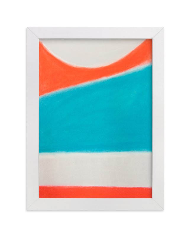 """Surf's Up"" - Limited Edition Art Print by Melanie Biehle in beautiful frame options and a variety of sizes."