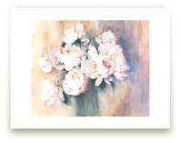 white peonies by XL