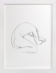 Seated Figure Art Print