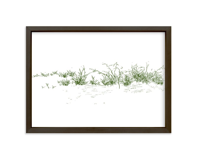 """Wild grass"" - Limited Edition Art Print by Yuke Li in beautiful frame options and a variety of sizes."