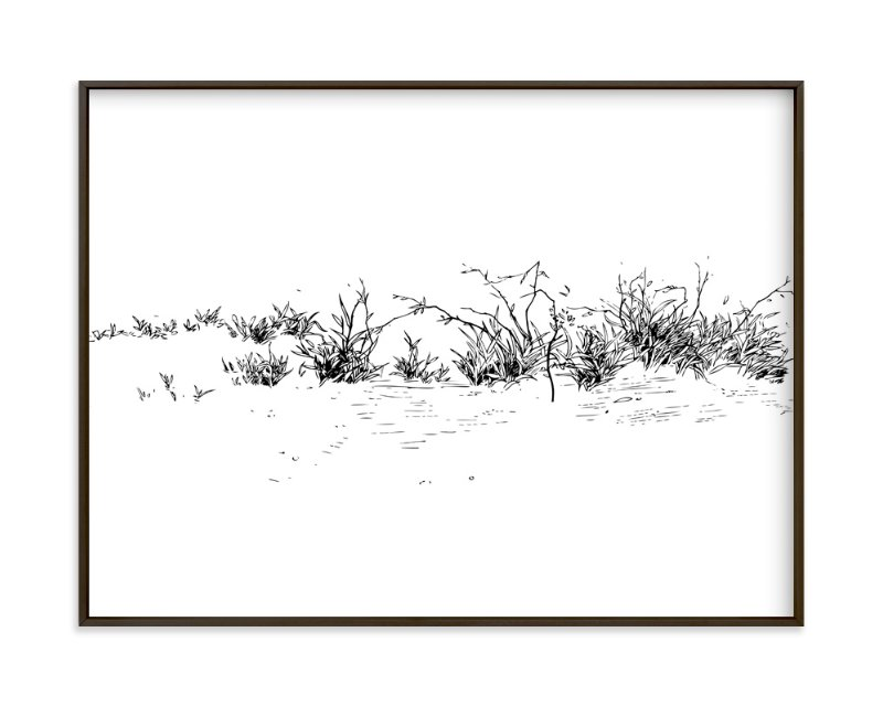 """""""Wild grass"""" - Limited Edition Art Print by Yuke Li in beautiful frame options and a variety of sizes."""