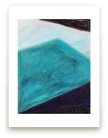 Iceberg Blues Geometric... by Melanie Biehle