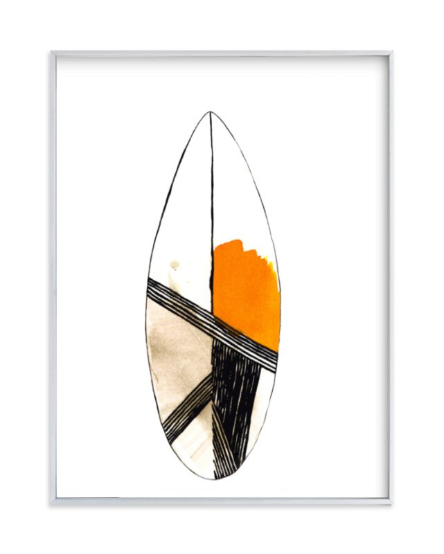 """""""Surf"""" - Limited Edition Art Print by Susanna Nousiainen in beautiful frame options and a variety of sizes."""