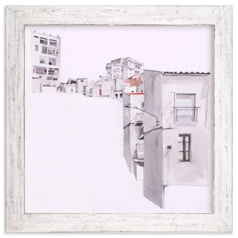 """Sicily"" - Limited Edition Art Print by Viktoria Eperjesi in beautiful frame options and a variety of sizes."