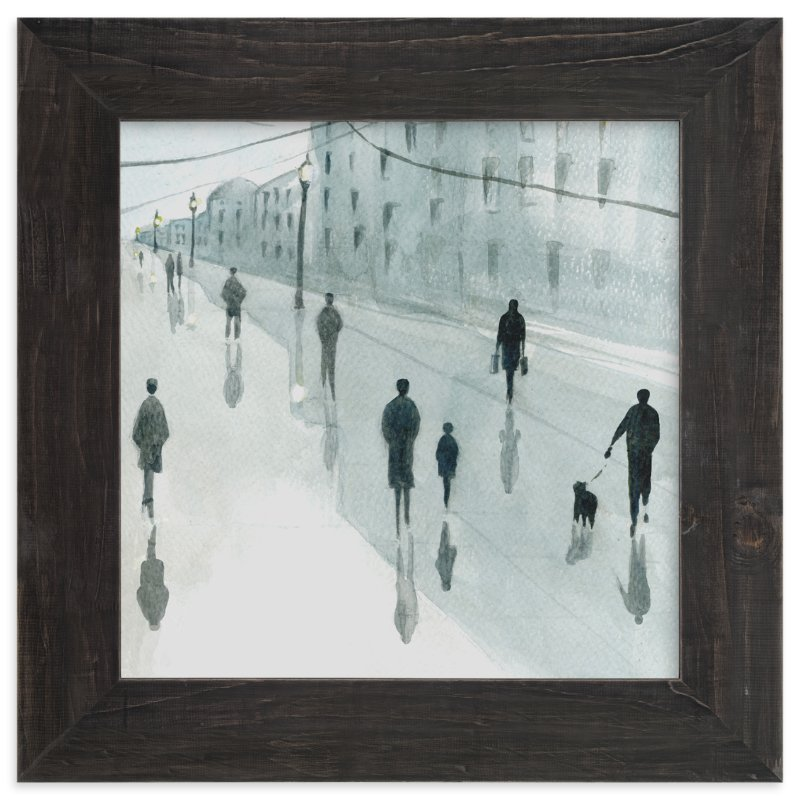 """""""Strangers"""" - Limited Edition Art Print by Lulaloo in beautiful frame options and a variety of sizes."""