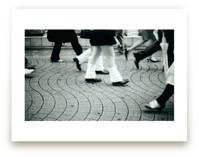 Harajuku Sidewalk by Liza Ferneyhough