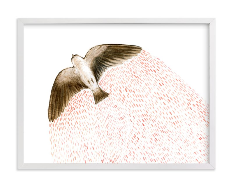 """Soaring Bird"" - Limited Edition Art Print by Eve Schultz in beautiful frame options and a variety of sizes."