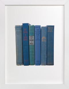 Bound in Blue Art Print