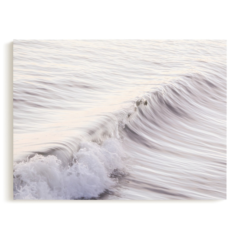 Cayucos Soft Waves Art Print