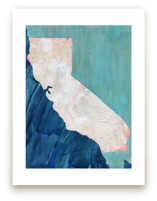 Land by the Sea Art Prints