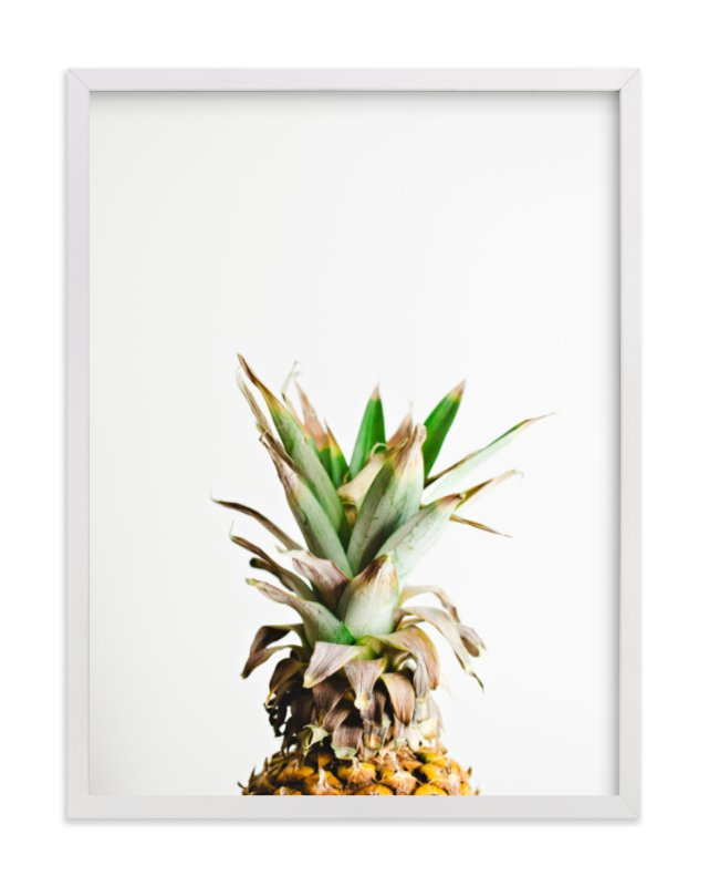 """""""Pining for Pineapple"""" - Limited Edition Art Print by Joni Tyrrell in beautiful frame options and a variety of sizes."""