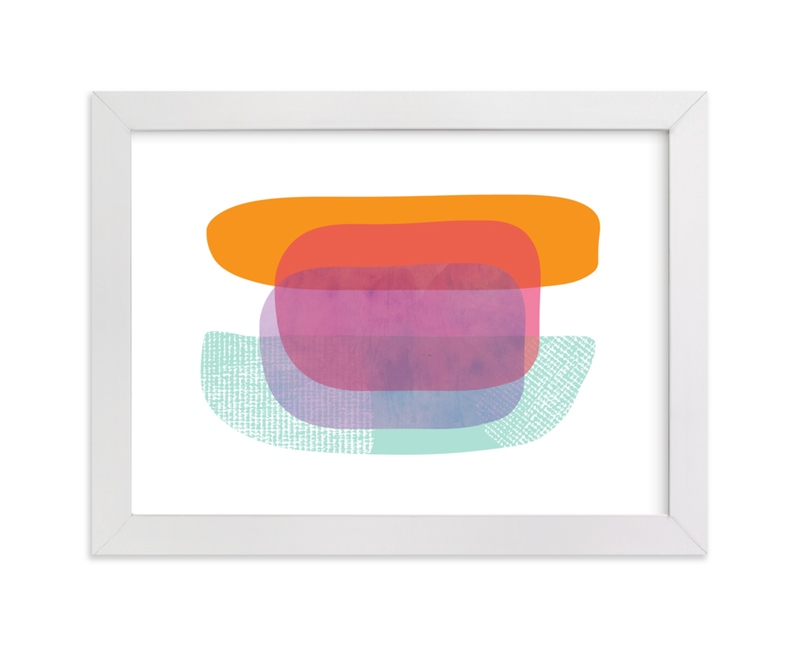 """Boating"" - Limited Edition Art Print by Katherine Moynagh in beautiful frame options and a variety of sizes."