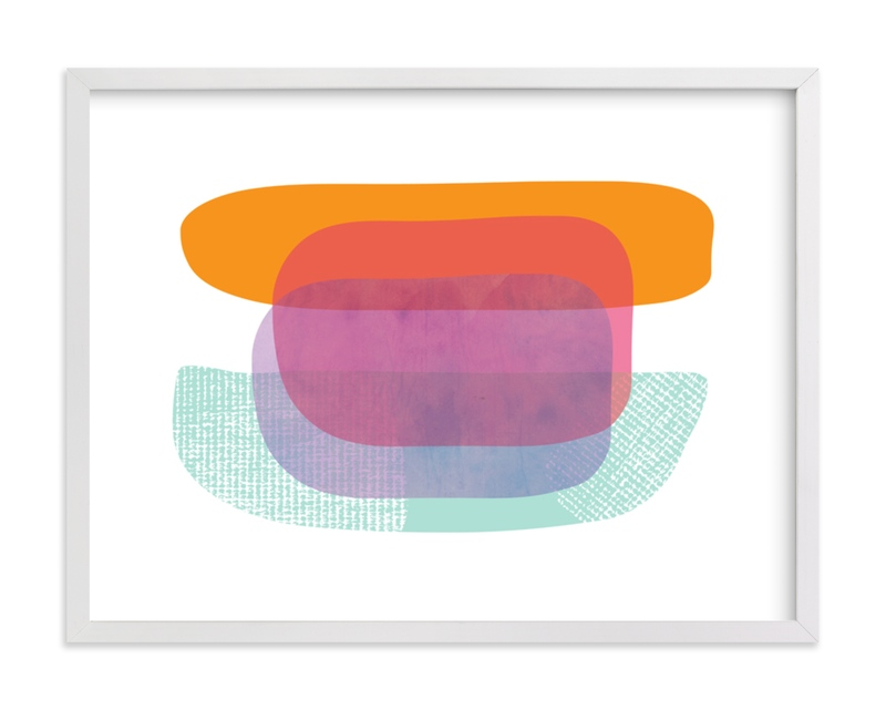 """""""Boating"""" - Limited Edition Art Print by Katherine Moynagh in beautiful frame options and a variety of sizes."""