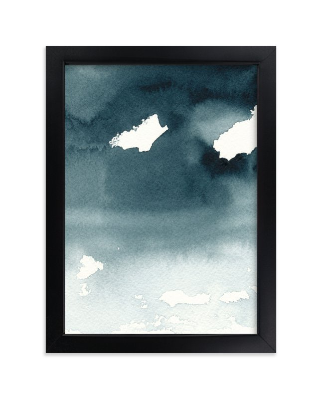 """""""Mist Rises Over the Water"""" - Limited Edition Art Print by Renee Anne in beautiful frame options and a variety of sizes."""