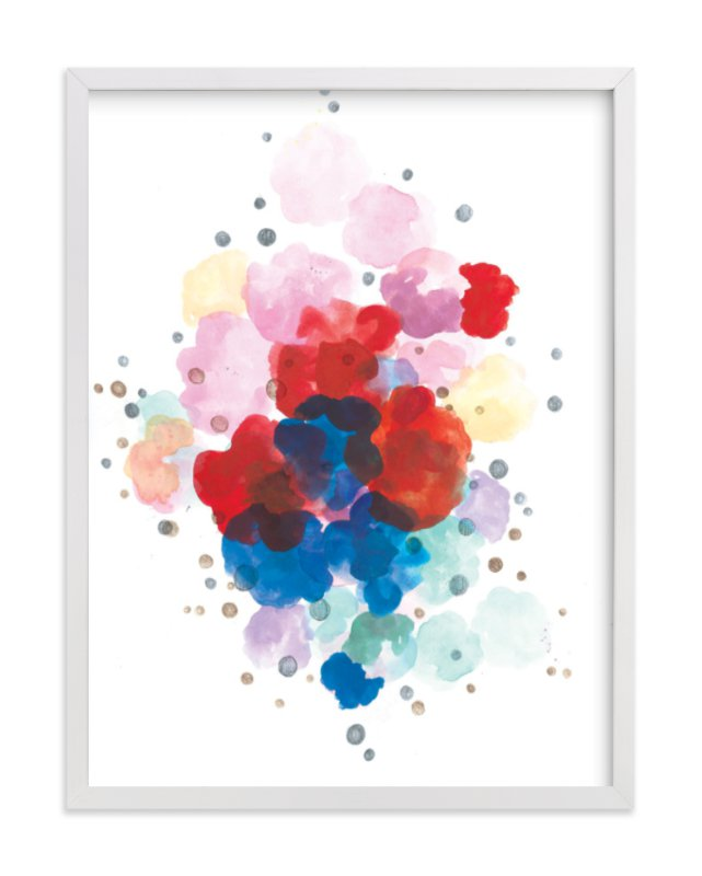 """""""Here and There"""" - Limited Edition Art Print by Sonal Nathwani in beautiful frame options and a variety of sizes."""