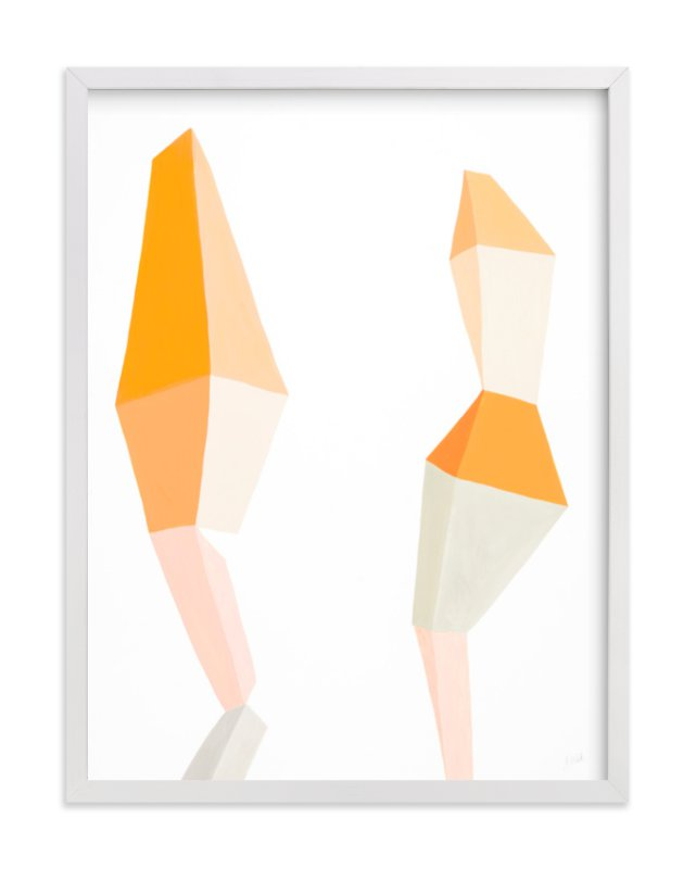 """""""Chance Meeting"""" - Limited Edition Art Print by J. Wink in beautiful frame options and a variety of sizes."""