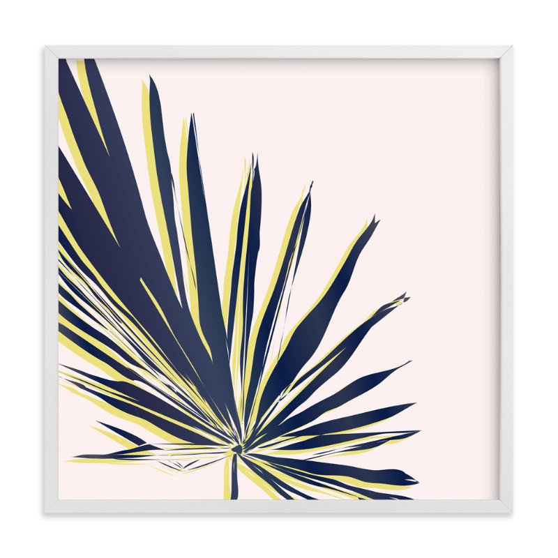 """""""Palm Study #1"""" - Limited Edition Art Print by Cindy Lackey in beautiful frame options and a variety of sizes."""