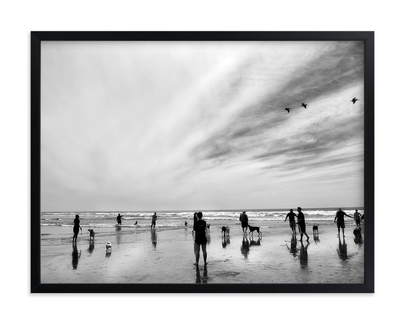 """""""Play Date"""" - Limited Edition Art Print by Michelee Scott in beautiful frame options and a variety of sizes."""