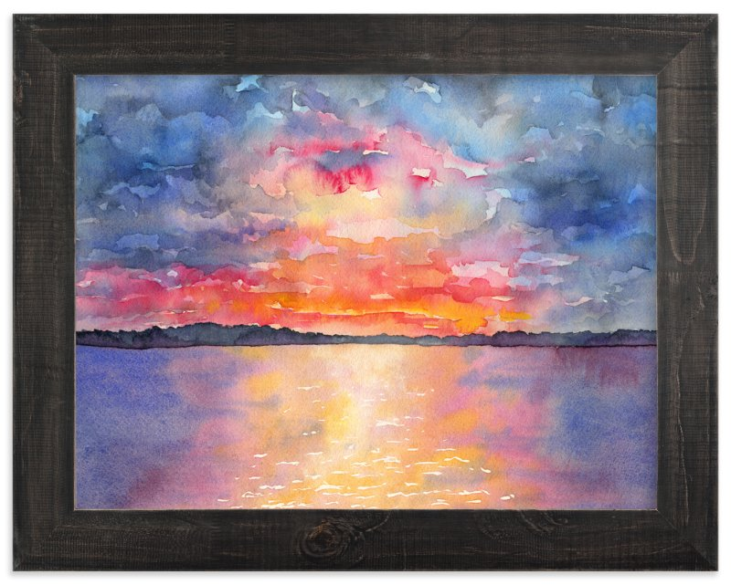 """""""Sailor's Delight"""" - Limited Edition Art Print by Jocelyn Edin in beautiful frame options and a variety of sizes."""