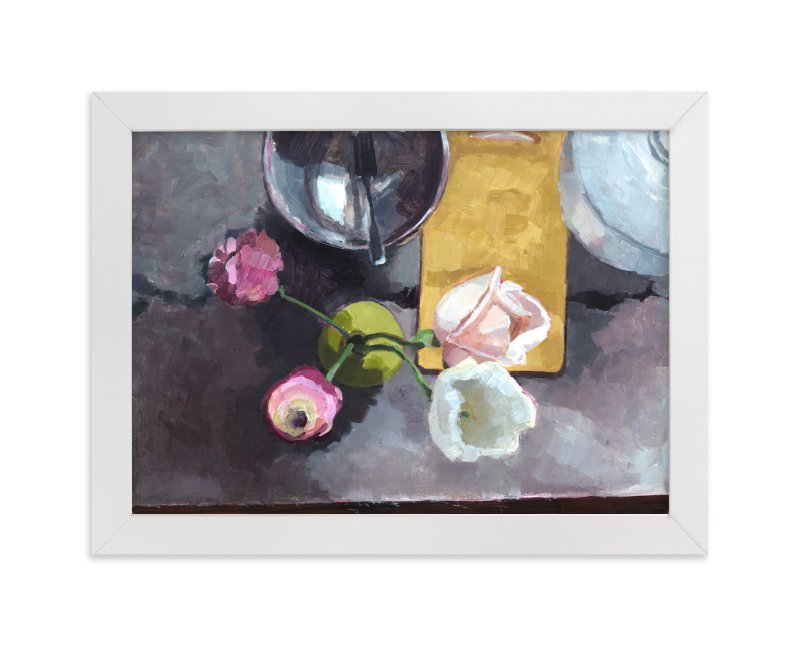 """""""Kitchen Still Life"""" - Limited Edition Art Print by Caitlin Winner in beautiful frame options and a variety of sizes."""