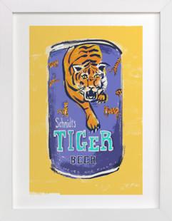 Beer Diptych (ii) Art Print
