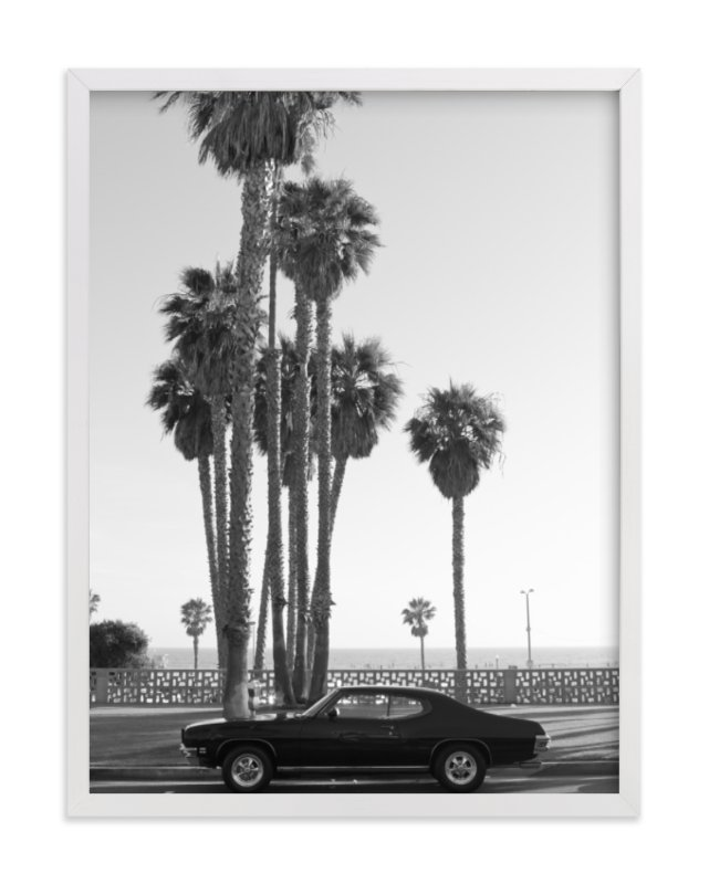 """""""Ocean Avenue"""" - Limited Edition Art Print by Kaitlin Rebesco in beautiful frame options and a variety of sizes."""