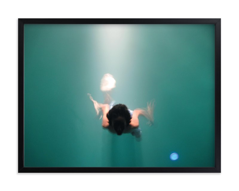 """""""Pool Illumination"""" - Limited Edition Art Print by Georgia Tankard in beautiful frame options and a variety of sizes."""