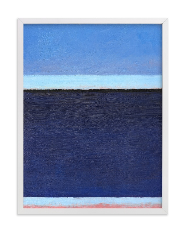 """""""Deep Blue Bay"""" - Limited Edition Art Print by Carol C. Young in beautiful frame options and a variety of sizes."""